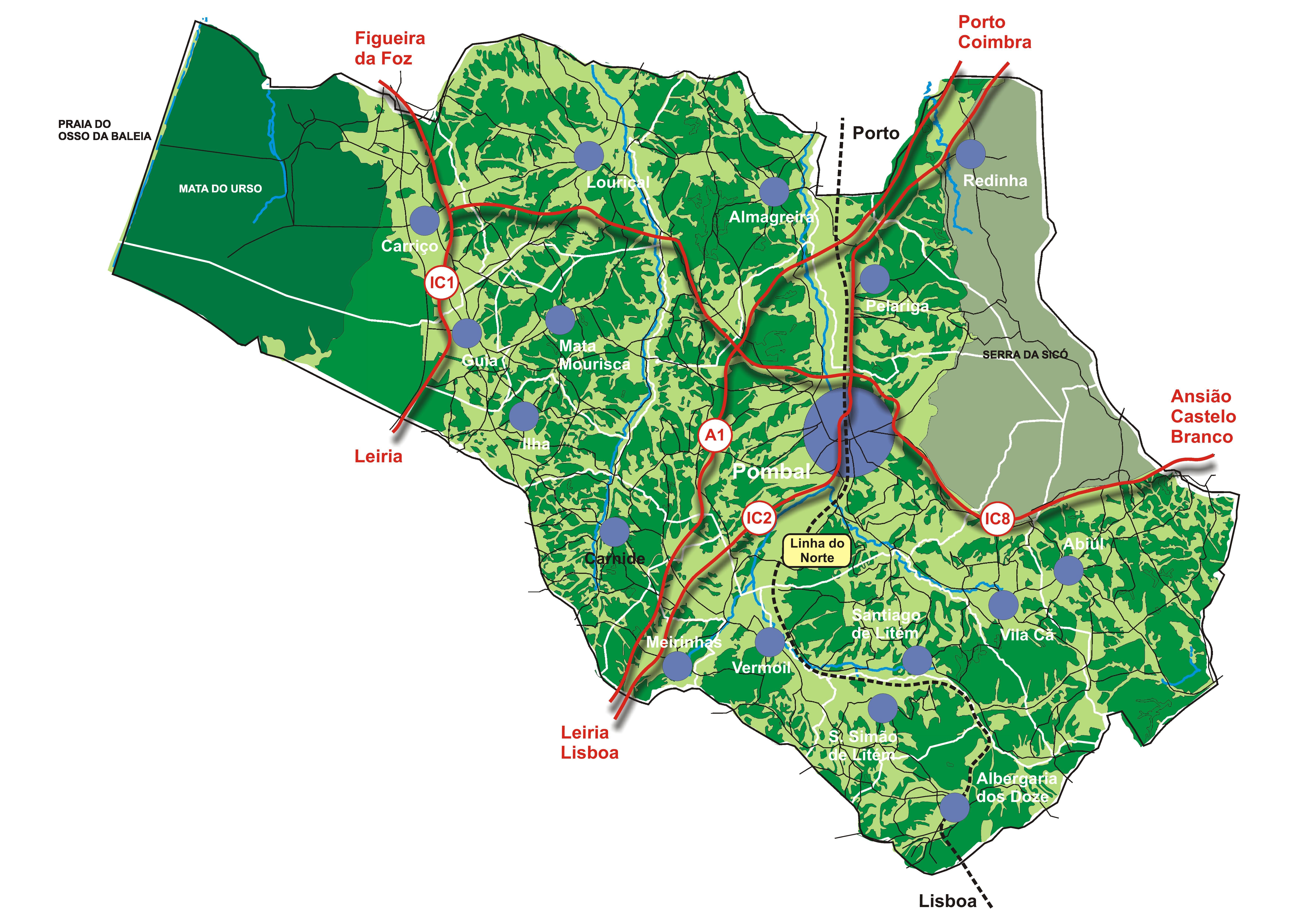 Mapas Portal Do Munic 237 Pio De Pombal