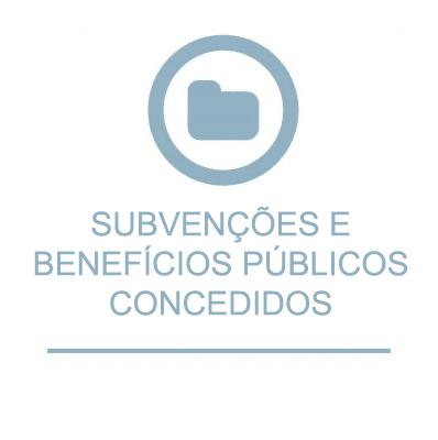 Subvenções e Benefícios Públicos Concedidos