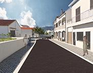 Requalificação do Largo de São Domingos e Rua Lúcio da Silva - Redinha