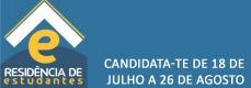 Candidata-te à Residencia de Estudantes de 18 de julho a 26 de agosto