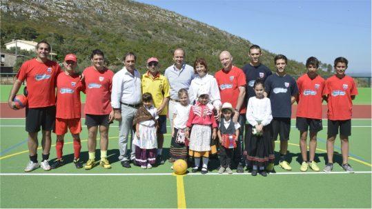 Inauguracao polidesportivo Pousadas Vedras