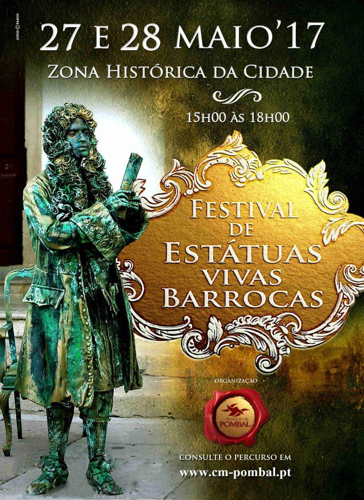 postal estatuas vivas barrocas capa
