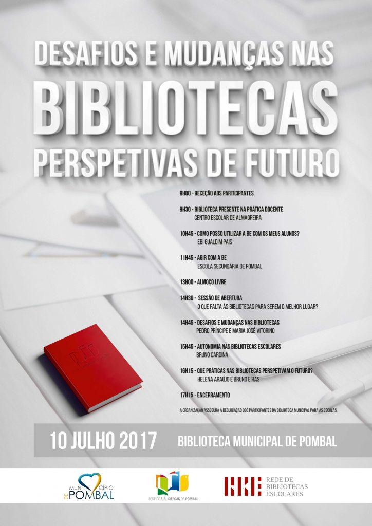 cartaz seminario rede bibliotecas