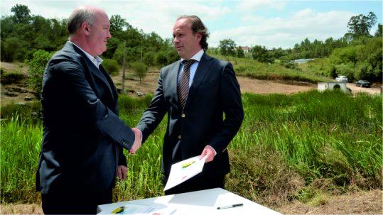 assinatura do protocolo de cooperação com a Câmara Municipal de Soure