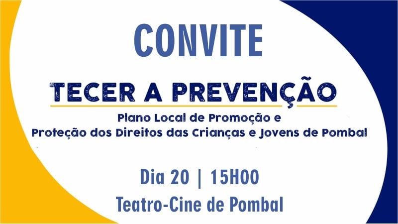 convite apresentação plano local tecer a prevenção