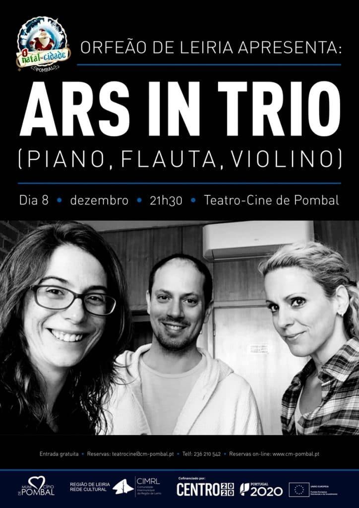 Orfeão de Leiria apresenta: ARS IN TRIO - O Natal na Cidade
