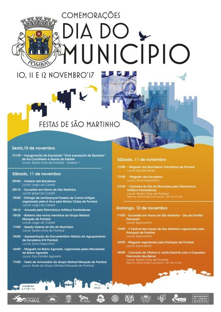 Programa das Comemorações do Dia do Município
