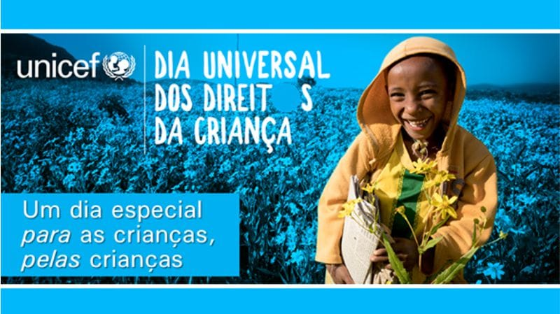 comemorações do dia internacional dos direitos das crianças