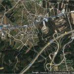 mapa EN109 Carriço