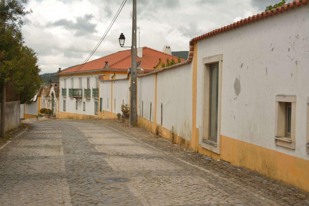 Vista rua fachada quinta