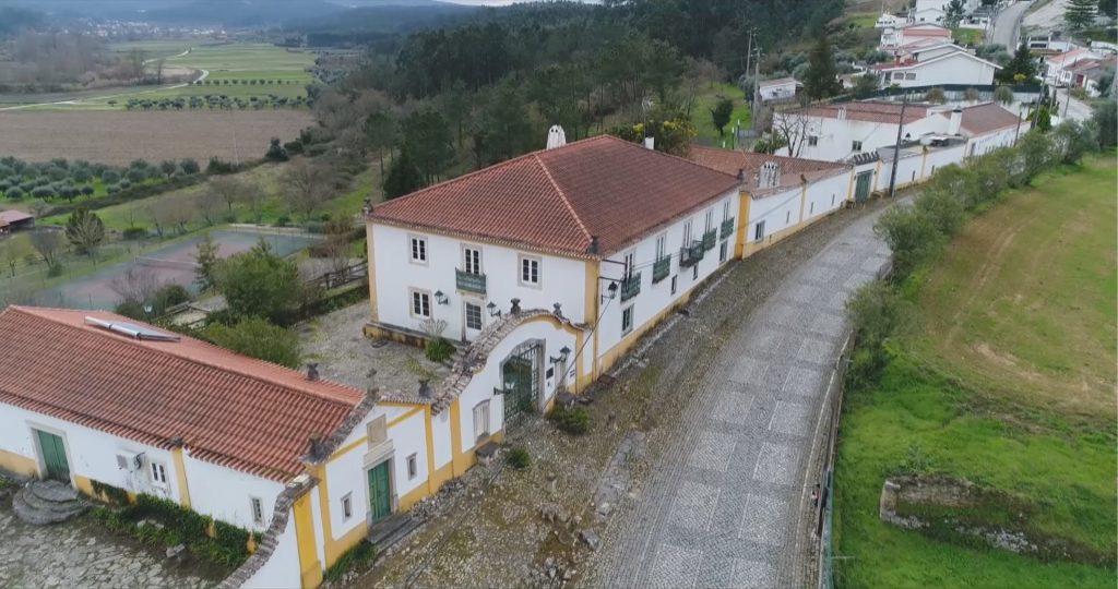 Fachada Quinta de Sant'Ana vista aérea