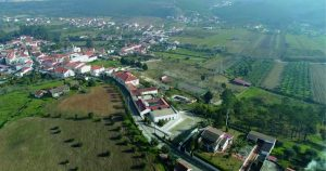 Vista aérea da Quinta de Sant'Ana