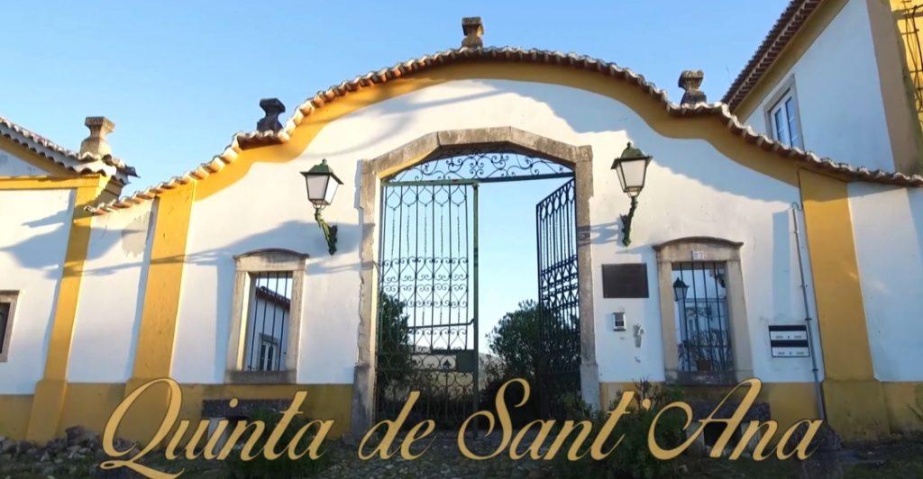 portão principal da Quinta